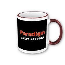 Exposure Paradigm shift coffee cup