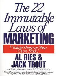 Taste Makers 22 Immutable Laws Of Marketing image