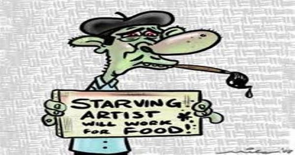 Artistically Starving To Death