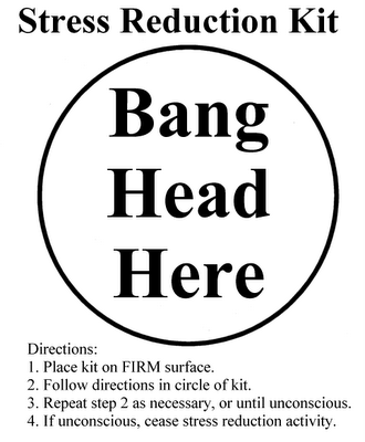 how do you want to be perceived Bang Head Here Poster image