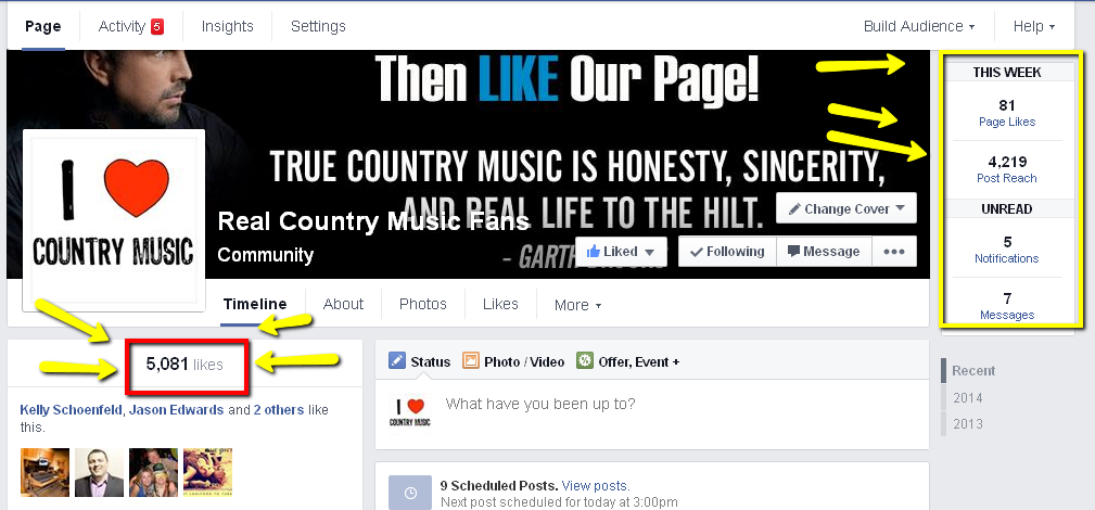 Real_Country_Music_Fans_FB_LIKES social media image