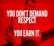 Add Value Demand Earn Respect image