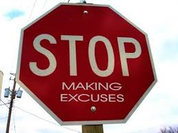 Excuses Stop Making Excuses image