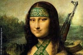 Mona Lisa Artistic Terrorist image
