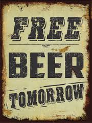 Skeptic Free Beer Tomorrow sing