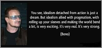 Pragmatic Bono Quote image
