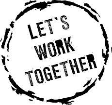 doing let's work together image