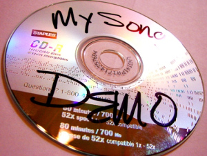 Professional My Song Demo CD image