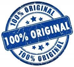 Derivative 100 percent ORIGINAL stamp