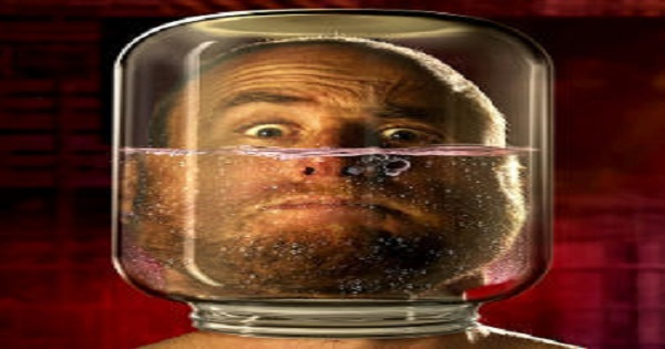 Uncomfortable head in a jar with water image FEATURE SIZE