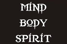 in tune Mind Body Spirit cool logo