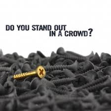 Quality stand out in a crowd