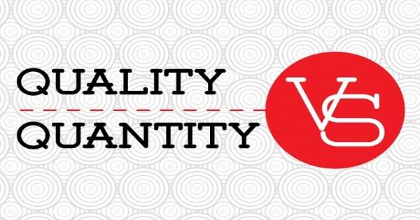 Quality vs Quantity Feature image