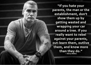 Consistency Henry Rollins Quote