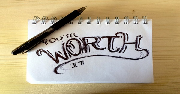 Worth You're Worth it Pad paper