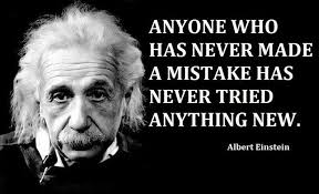 Emotion Einstein Mistakes quote