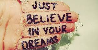 Emotion Just Believe In Your Dreams
