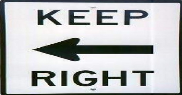 Business. Keep Right
