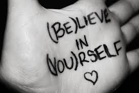 Faith Believe in Yourself Hand
