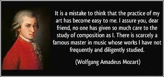 Practice Amadeus Mozart Quote