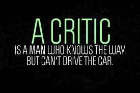 Foolish Critics