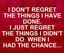 Foolish Regret quote
