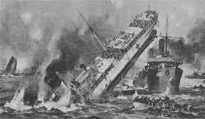 Mistake Sinking ship