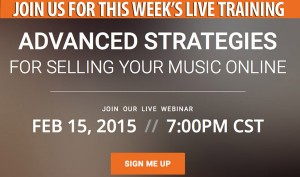 Music Marketing Web Ad