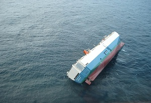 Industry Aground Ship