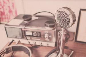 Radio vintage radio recording