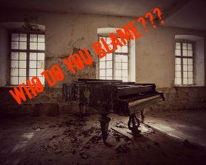 Awareness Blame Piano MEME Image