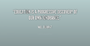 Awareness Will Durant Quote