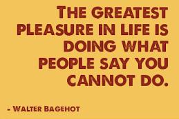 Grind Greatest pleasure quote