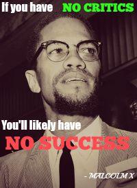Music Critiques Malcolm X Meme