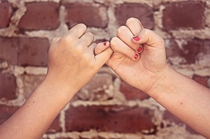 Successful Friends Pinky Promise