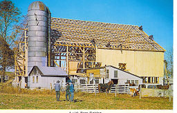 Success Friends Successful Barn Raising