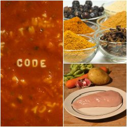 Experiment Mistake Soup Collage