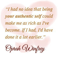 Signature Strength Genuine Authentic Self Oprah Quote