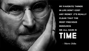 Marketing Right Now Steve Jobs Time Quote