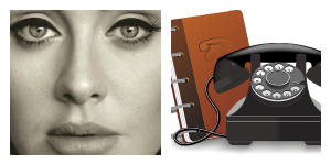 Selling Emotion Adele and Phone Book