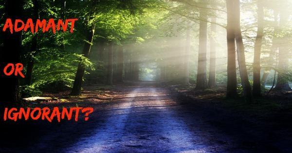 Path Adamant or Ignorant Feature