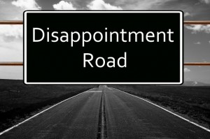 Bottom Line Disappointment Road