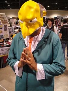 Sticky Music Marketing Mr. Burns