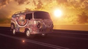 Freedom Hippie Bus