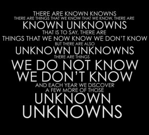 Organic Unknowns Quote MEME