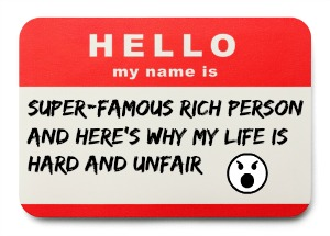 Cage Name Tag Rich Person