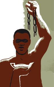 Cage Slave Negro