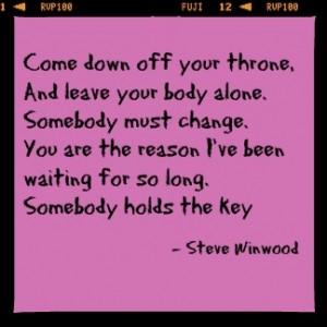 Cage Winwood Lyrics