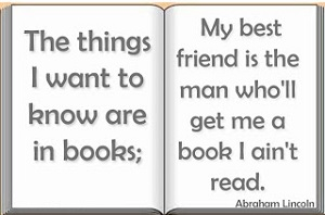 Poverty Abe Lincoln Book Quote
