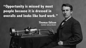 Poverty Thomas Edison Quote